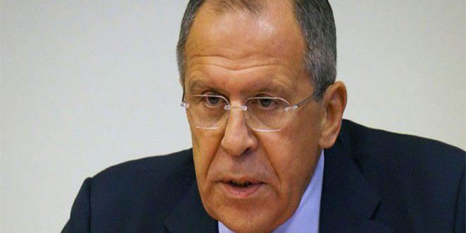 Ministro das Relações Exteriores da Rússia, Sergei Lavrov