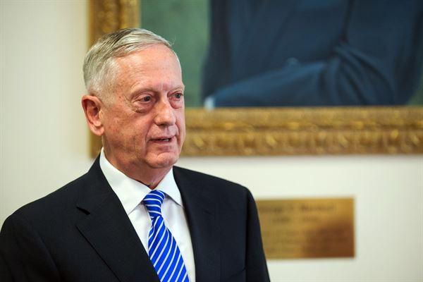 Secretário de Defesa, Jim Mattis Foto de divulgação