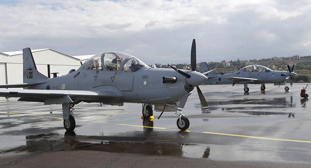 A-29 fabricados nos EUA foto AP Hussein Malla