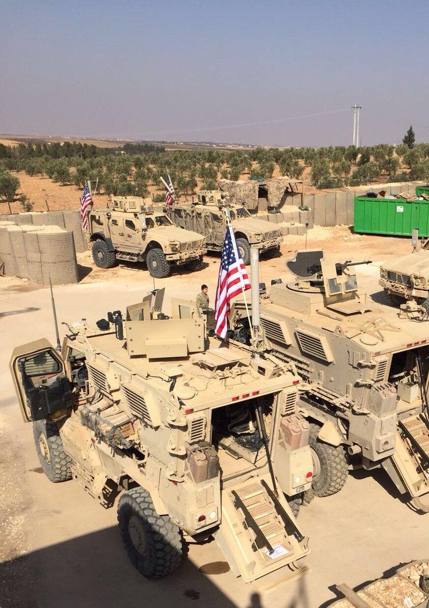 Forças americanas em Manbij, Síria