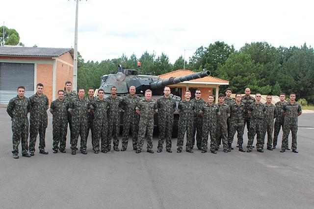 Leopard 1 A5 BR - Ambientação da Viatura Blindada de Combate Carro de Combate (VBCCC)
