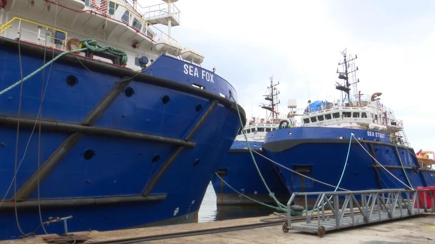 Marinha navio de apoio oceânico