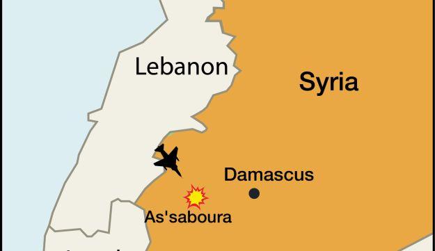 over lebanon
