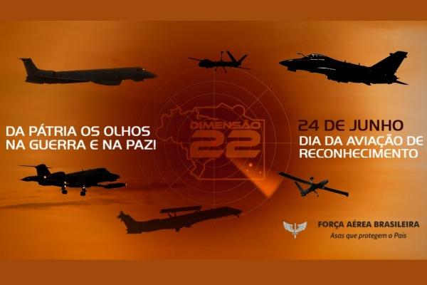 24 de junho - dia da aviação de reconhecimento