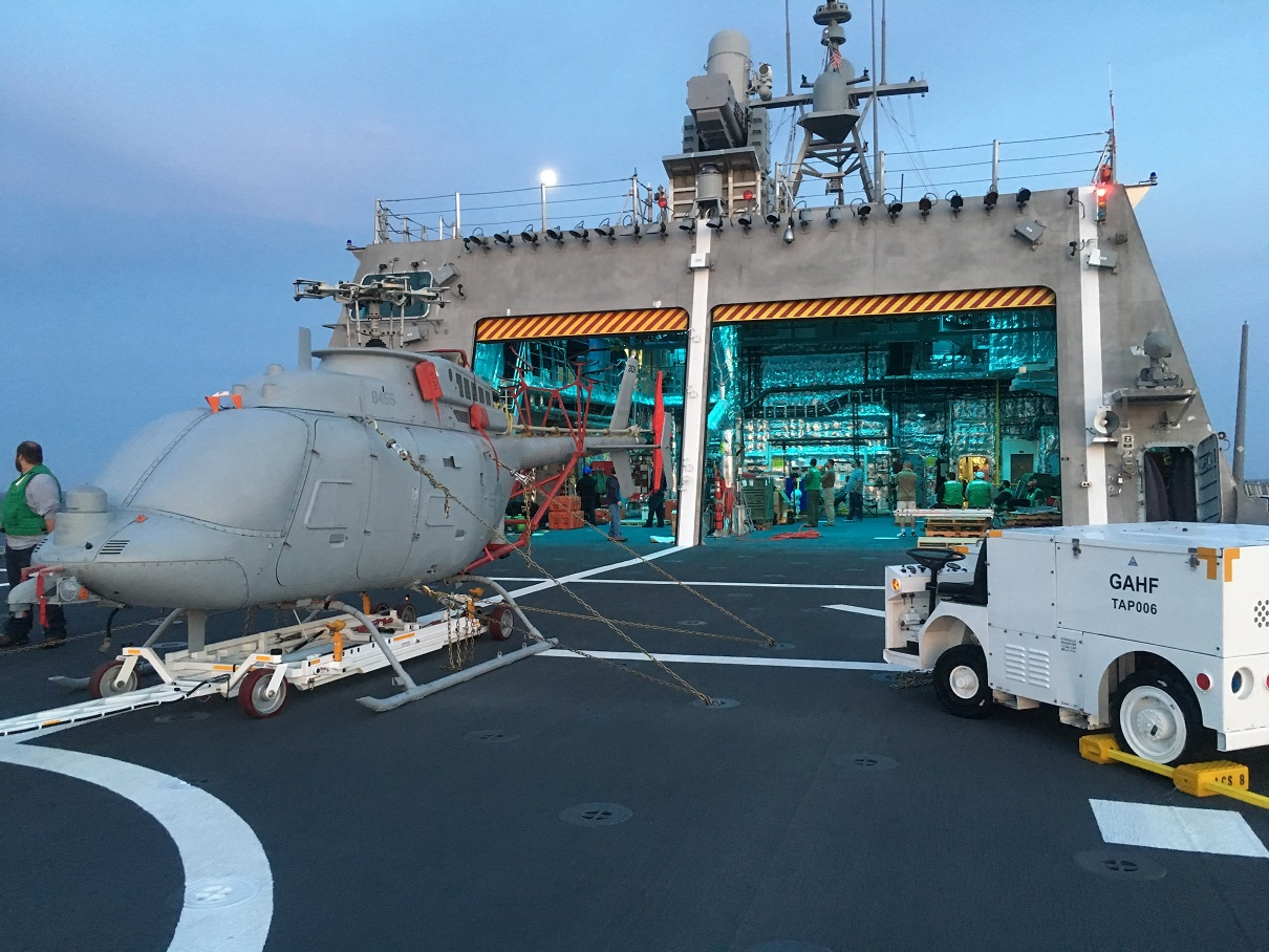MQ-8C Fire Scout First Testing Underway Aboard LCS