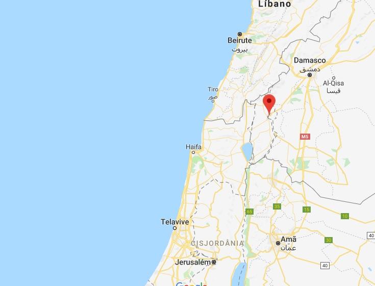 Quneitra uav israel abatido