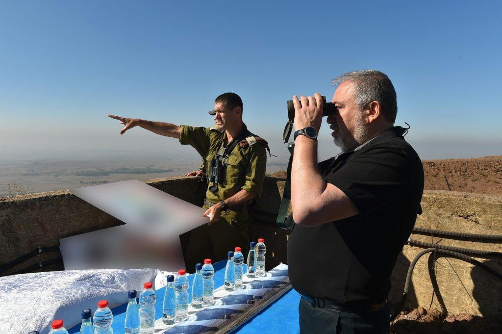 Avigdor Lieberman - foto de Ariel Hermoni