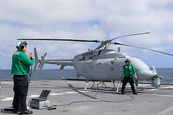 Milestone MQ-8C Fire Scout Initial Operational Test and Evaluation Complete