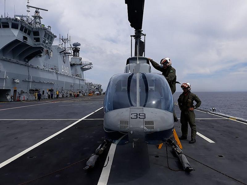Helicópteros no PHM Atlântico