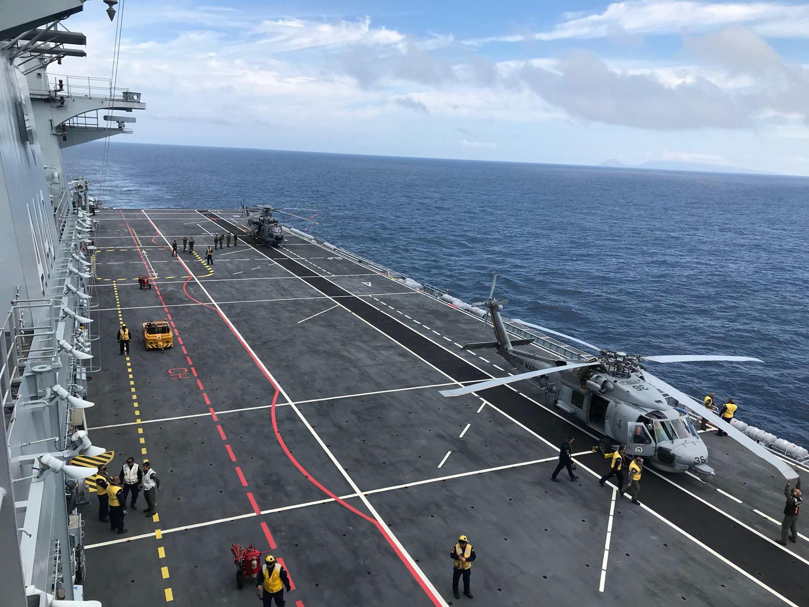helicópteros no PHM Atlântico - Seahawk