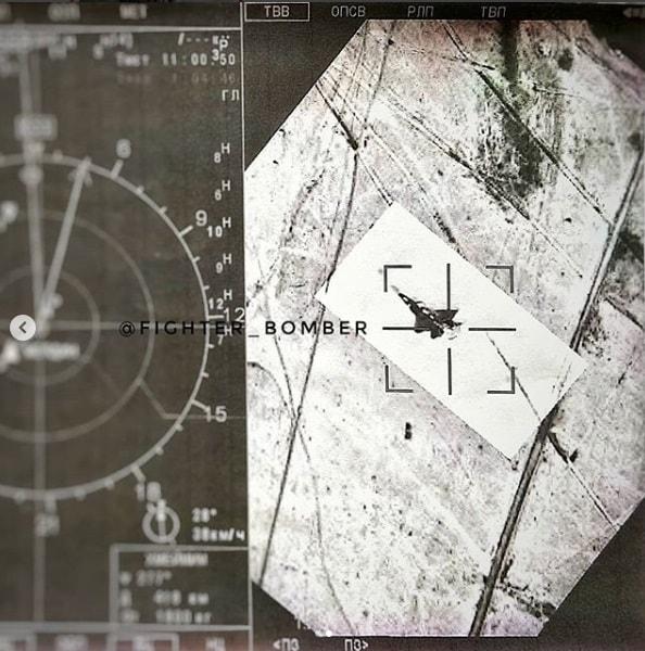 F-22 detectado pelo IRST de um SU-35
