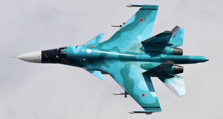 SU-34 MAKS2015