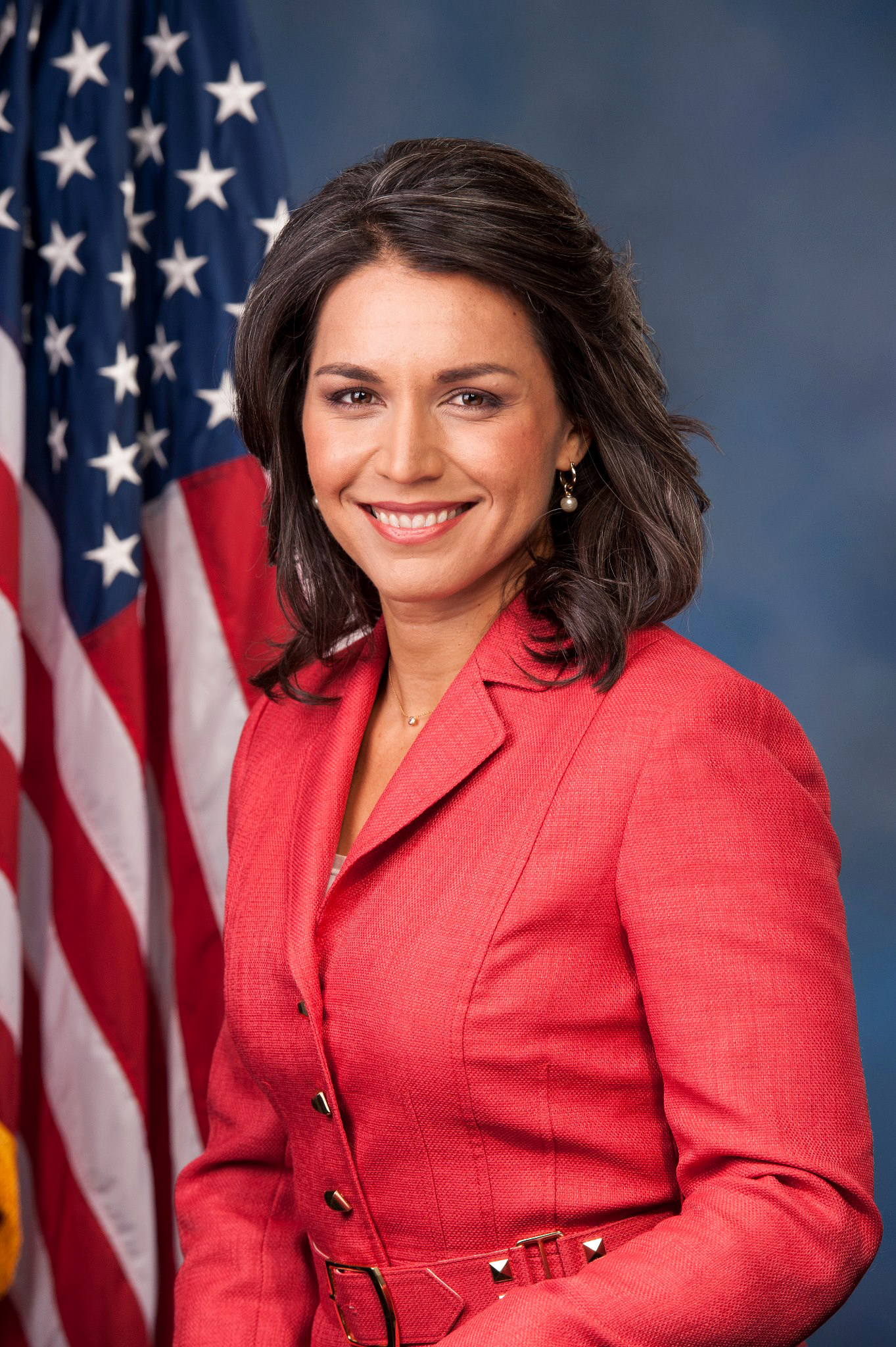 Tulsi Gabbard, official portrait, 113th Congress