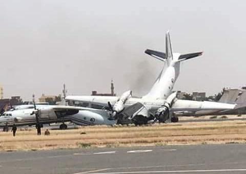 Acidente com aeronaves an-30 e 32 no Sudão